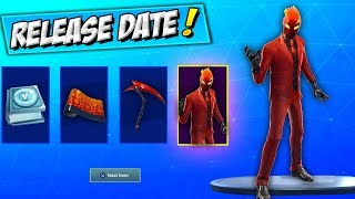 How To Get INFERNO Skin BUNDLE (RELEASE DATE) Fortnite INFERNO NEW STARTER PACK 7 Défis GRATUIT