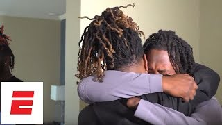 Shaquem Griffin reacts to being drafted by the Seattle Seahawks | ESPN