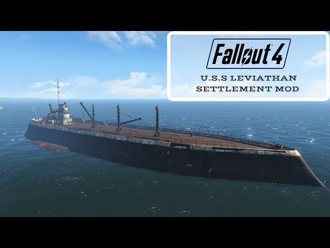 Fallout 4: U.S.S Leviathan Settlement Mod (Link in the Description)