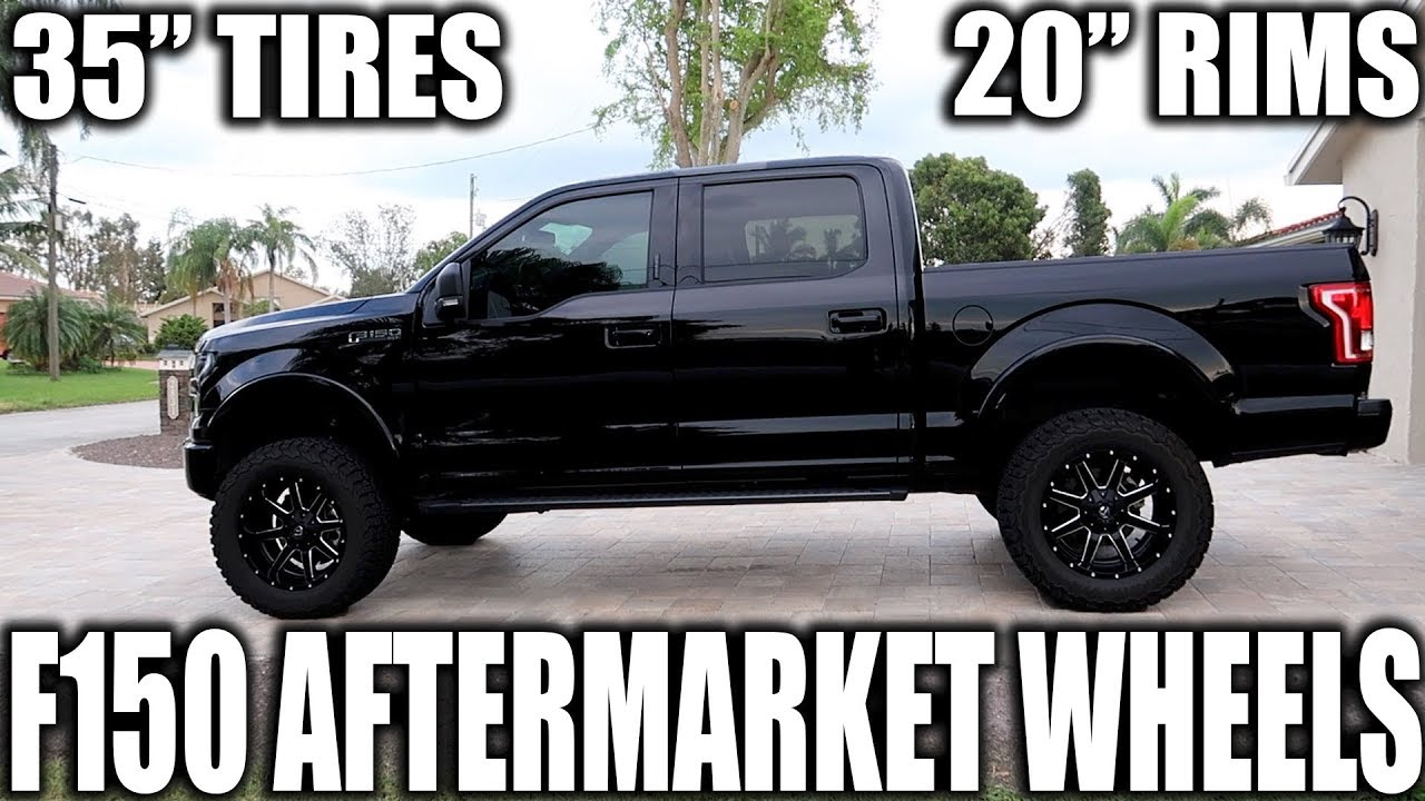 2015 2017 ford f150 rim and tire upgrade mod my setup youtube F150 Bulldog 2015 2017 ford f150 rim and tire upgrade mod my setup