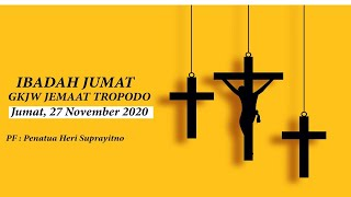 Ibadah Keluarga GKJW TROPODO / 27 November 2020 (LIVE)