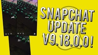 NEW Snapchat Update v9.18.0.0 - How to Use Slow Motion, Super Speed, and Reverse Video Filters!