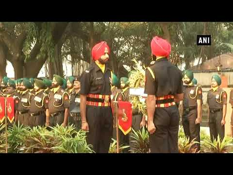 Wreath laying ceremony held on the occasion of Vijay Diwas Mp3