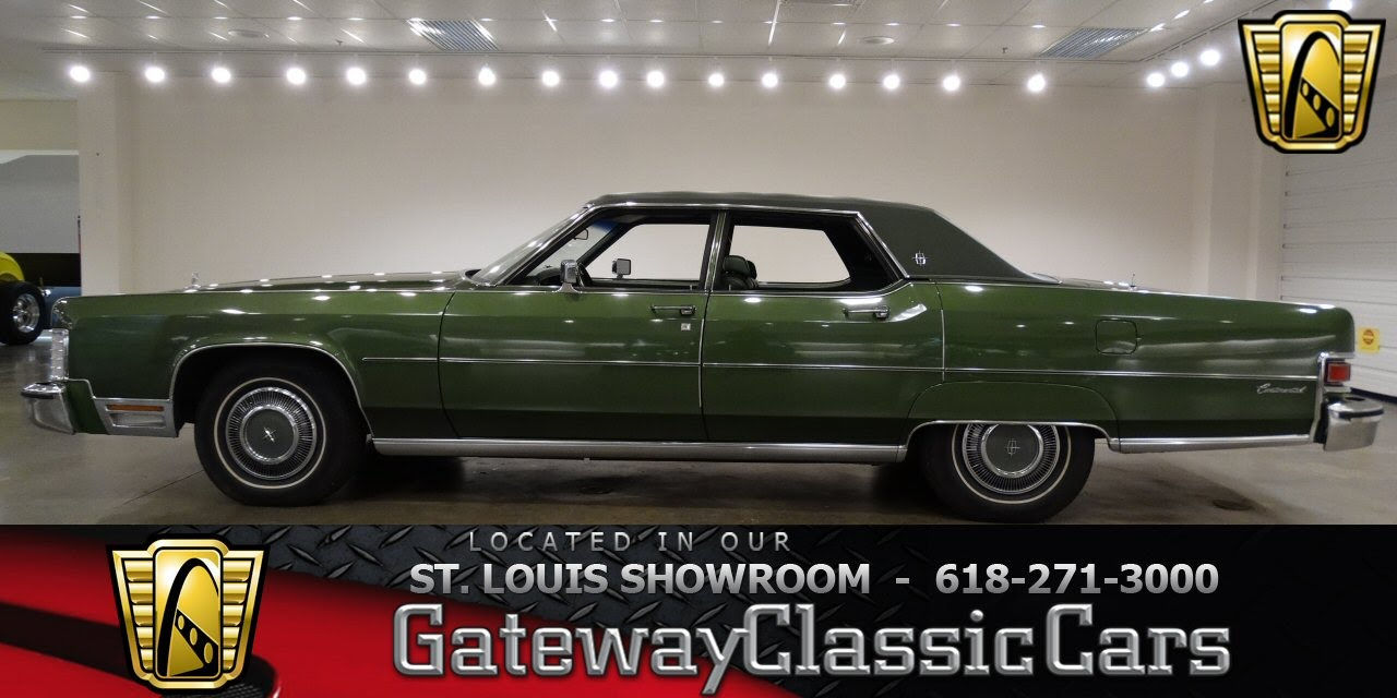 6856 1974 Lincoln Continental 460 CID V8 - Gateway Classic Cars St ...