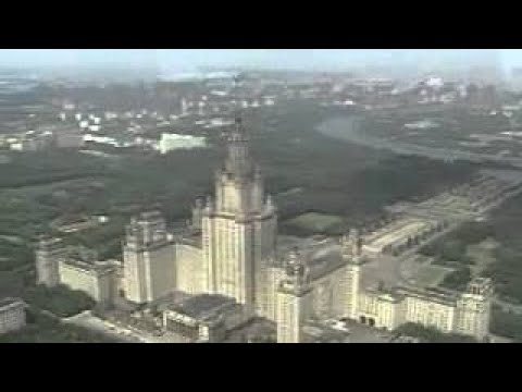 Moscow panoramic scenery Sky View