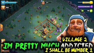 Clash of Clans - I'm Getting ADDICTED to Village 2 | THE PADDEDROOM!! | COC