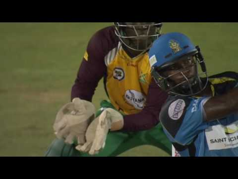 CPL Top 5 Sixes @ The Darren Sammy National Cricket Stadium