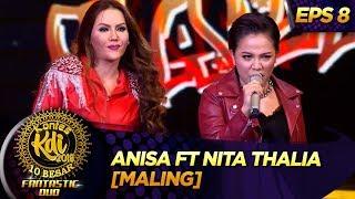 ROCKDUT ABIS!! Anisa Ft Nita Thalia [MALING] - Kontes KDI Eps 8 (9/9)
