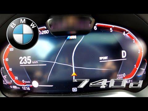 2020 BMW 740d | ACCELERATION