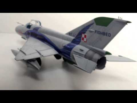 Academy 1/48 MIG-21 MF Polish Air Force