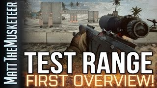Battlefield 4 TEST RANGE! First Overview!