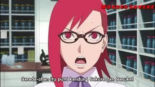 Karin Menyatakan Yang Sebenarnya Bahwa Sarada Adalah Anak Kandung Sakura | Boruto Episode 23