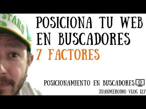 POSICIONAMIENTO EN BUSCADORES - 7 Factores de la WEB