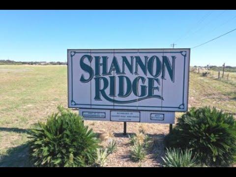 Shannon Ridge Subdivision  -- Floresville Tx