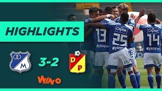 Millonarios vs Pereira (Goles y Highlights) Liga BetPlay Dimayor 2021 | Fecha 5