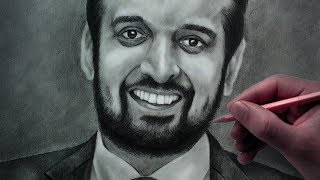 Thumindu Dodantanna - Pencil Drawing - Sri Lankan Actor