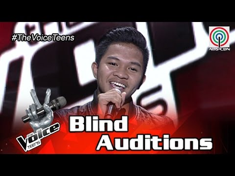 The Voice Teens Philippines Blind Audition: Emarjhun De Guzman - One Day