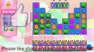 Candy crush saga level 1409/No Booster