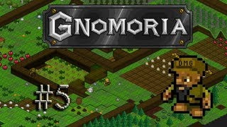 Let's play Gnomoria #5 - The first buildings