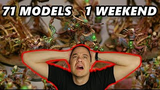 How to Paint Your Army in a WEEKEND!