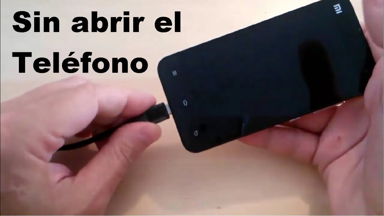 Como Arreglar Conexión De Carga Del Conector Micro Usb Youtube