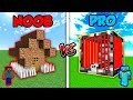 Minecraft NOOB vs. PRO: WORLDS SAFEST HOUSE in Minecraft! | AVM Shorts Animation
