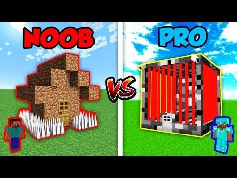 Minecraft NOOB vs. PRO: WORLDS SAFEST HOUSE in Minecraft!   AVM Shorts Animation