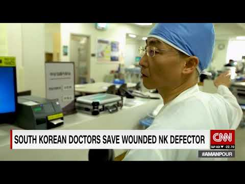 South Korea doctors save wounded North Korean defector