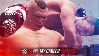 WWE 2K18 My Career Universe - Ep 6 - BROCK DESTROYS THE FAMILY!