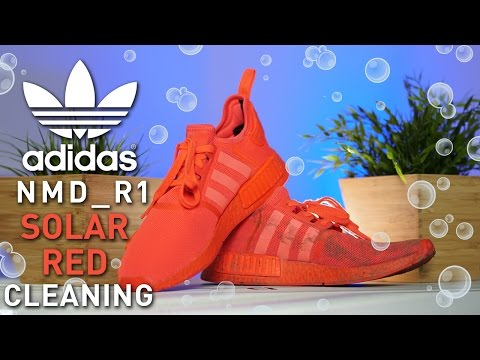 How to Clean Adidas NMDs Correctly! @Toooooort