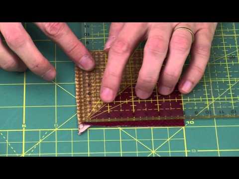 Patchwork : Technique de découpes rapides - Atelier Edisaxe