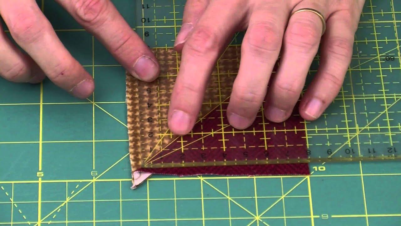 patchwork technique de d coupes rapides atelier edisaxe youtube. Black Bedroom Furniture Sets. Home Design Ideas