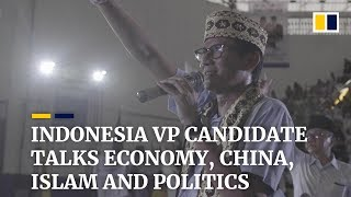 Entrepreneur Sandiaga Uno share why he's making a bid to become Indonesia's vice president