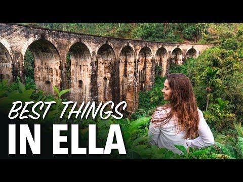 Best Things To Do In ELLA SRI LANKA - Nine Arch Bridge, Ravana Falls, Little Adams Peak