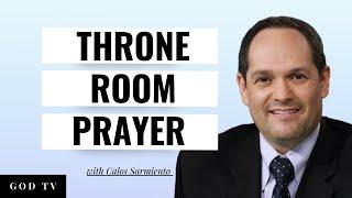 Throne Room Prayer - Lila Terhune with Carlos Sarmiento