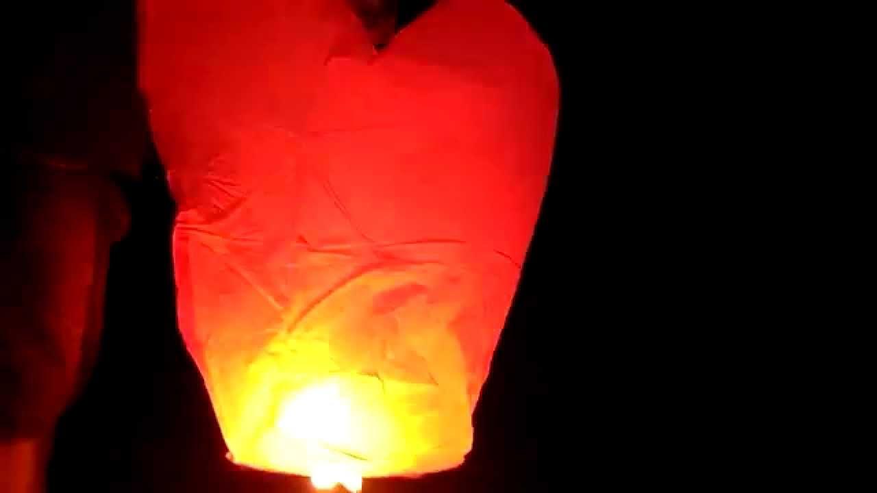 Китайский небесный фонарик инструкция