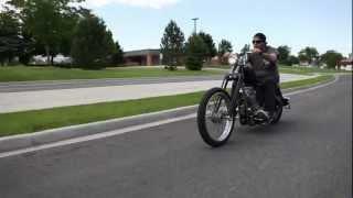 Custom Harley Davidson Sportster Hardtail Springer Chop Suicide Shift