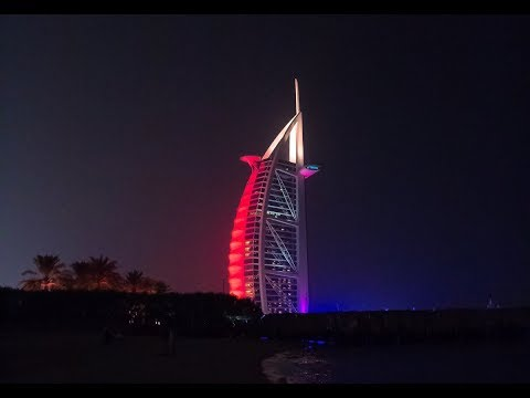 Dazzling Dubai - Best places (Grand Mosque, Burj Khalipha, Burj Al Arab, Aquarium, Desert) Top City
