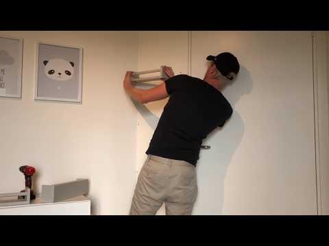 IKEA Hack BEKVAM Shelves In A Babyroom