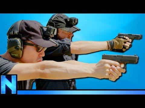 TAKING REAL COMBAT GUN TRAINING