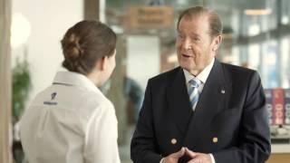 Christoph Schwegler / Swisscom® (TV Spot) mit Sir Roger Moore & Melanie Winiger