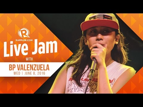 LIVE JAM: BP Valenzuela in the Rappler studios