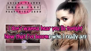 Ariana Grande feat. Zedd - Break Free (BGV) [Karaoke / Instrumental]