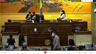 Plenaria Cámara de Representantes 16/06/2021