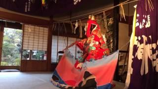比婆荒神神楽2015八重垣櫛名田比売