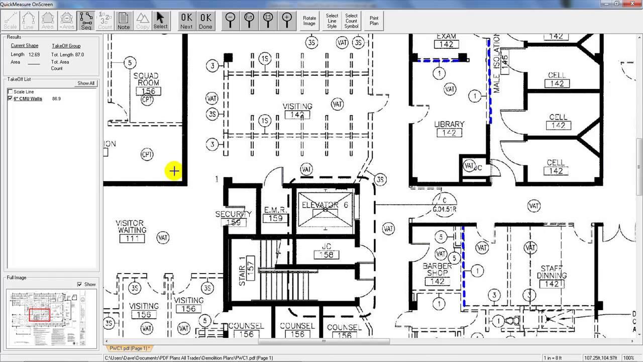 For demolition estimators take offs from pdf plans youtube for demolition estimators take offs from pdf plans malvernweather Choice Image