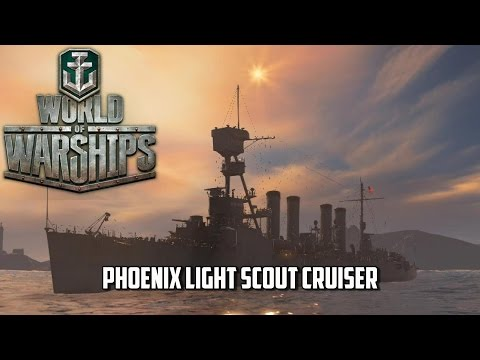 World of Warships - Phoenix Class Light Cruiser