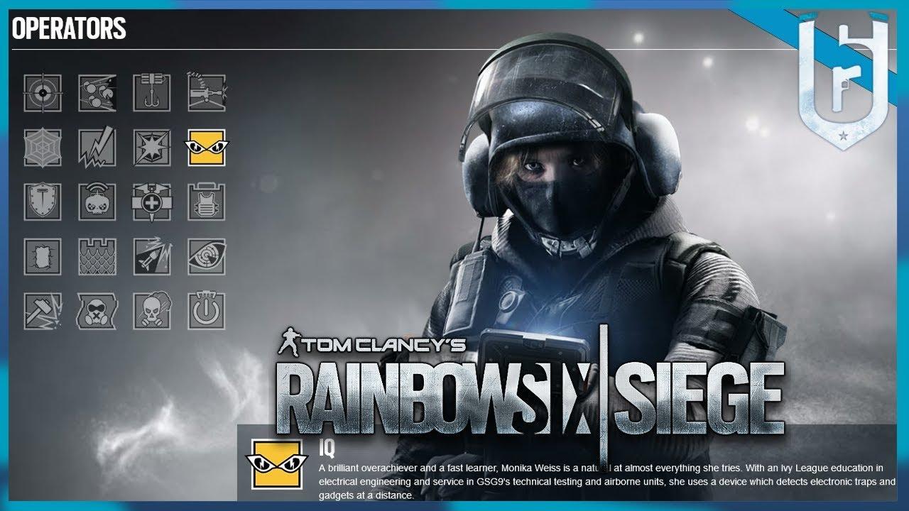 RAINBOW SIX SIEGE: Operator Spotlight - IQ - Rainbow Six