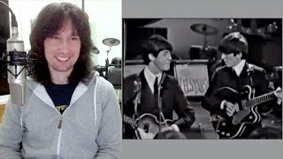 British guitarist analyses The Beatles early live performance in 1963!