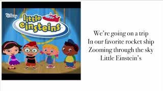 Little Einstein's-Theme song (lyrics)